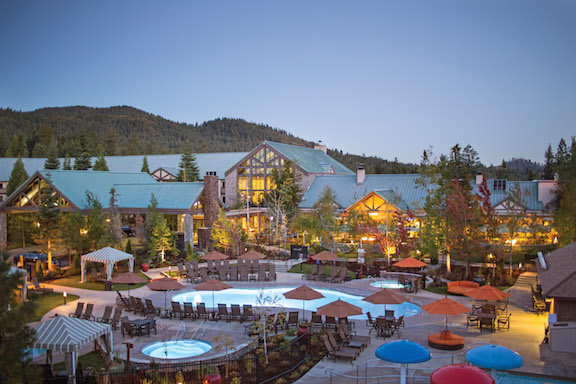 Tenaya Lodge-Dawn Exterior-New Pools